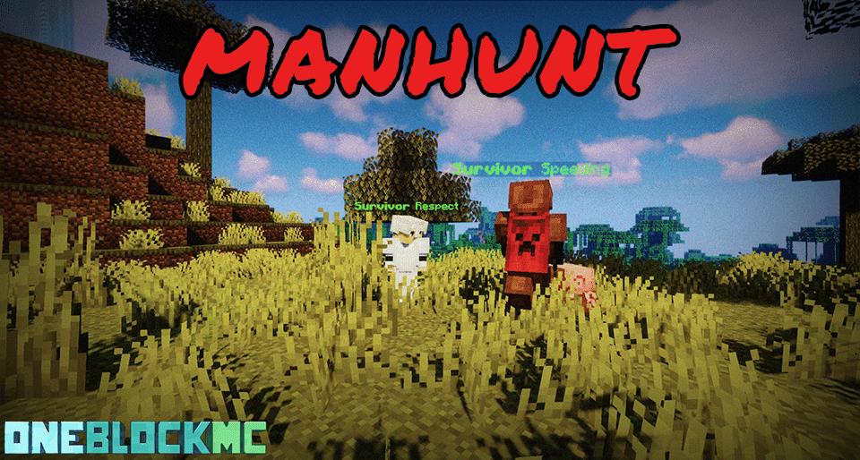 Minecraft manhunt server gameplay