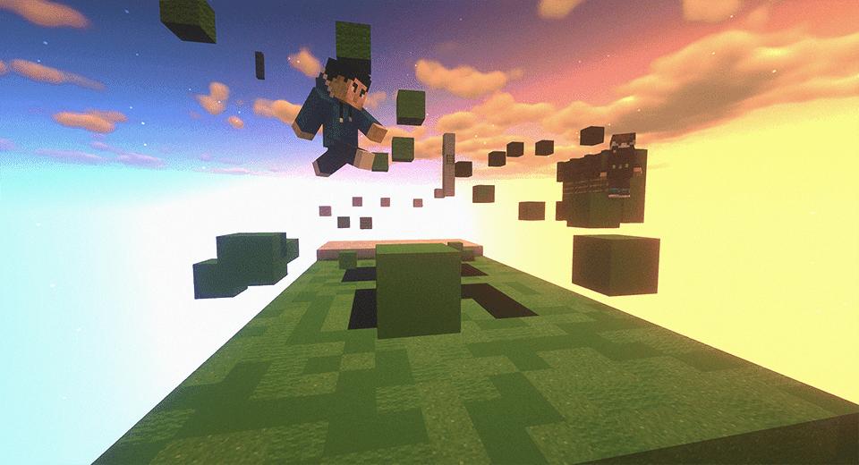 Minecraft parkour server map