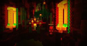 Minecraft Halloween Minigame Arcade